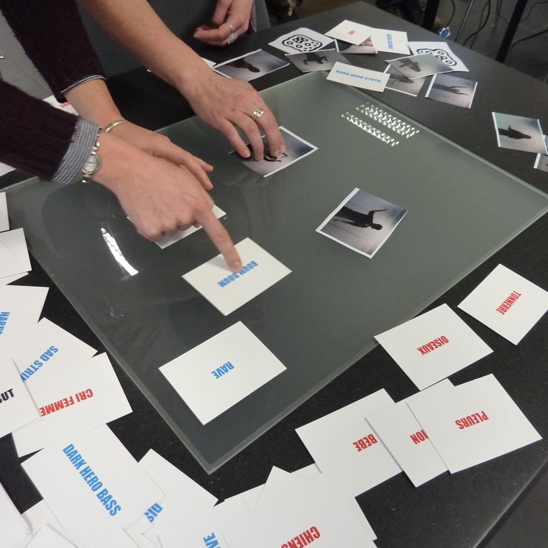 Le montage ludique, intuitif et collaboratif, avec la Table MashUp